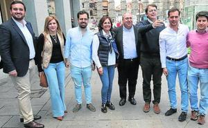 Mañueco: «Los que se fueron del PP con insultos nunca debieron estar en él»