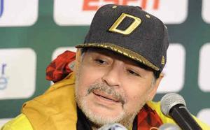 Maradona: «Este equipo no merece la camiseta»