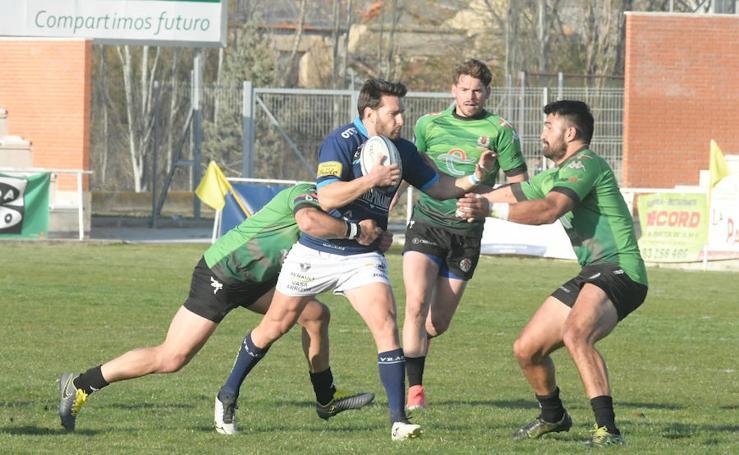 Partido de rugby entre el VRAC y el Gernika