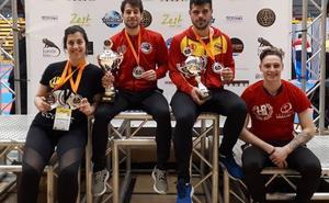 Dos oros, tres platas y un bronce para el kickboxing salmantino en la Copa del Mundo WAKO Yokoso Dutch Open 2019