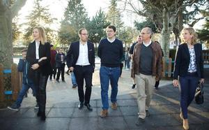 Mañueco afirma en Ciudad Rodrigo que el tripartito es un «laboratorio de pruebas»