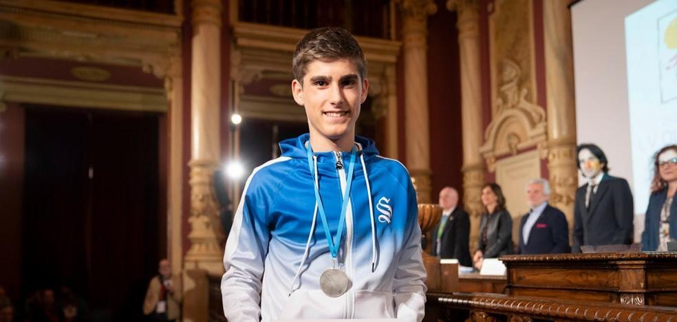 Álvaro Acítores, medalla de plata en la Olimpiada Matemática de Bachillerato