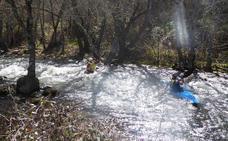 Palazuelos vuelve a ser el epicentro del piragüismo regional en aguas bravas