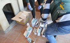 La Guardia Civil de Salamanca desmonta una red de venta de sustancias dopantes