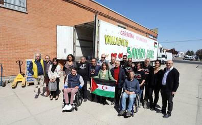 La caravana de Amigos del Pueblo Saharaui de Valladolid partirá el lunes con 24 toneladas de alimentos y artículos de primera necesidad