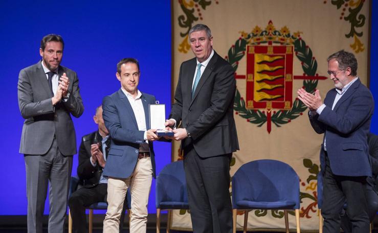 Medalla de oro y título de Hijo Predilecto de Valladolid