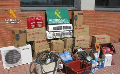 Detenido por robar efectos por valor de 10.000 euros en una casa de Mozárbez