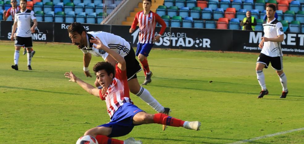 El Salamanca CF UDS no puede con un serio Atleti B (0-2)