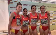 Gema Martín, la 61ª en el Mundial de cross y décima por equipos con España
