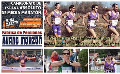 El At. Macotera Persianas Ruano presenta un gran equipo para el Nacional de Media Maratón