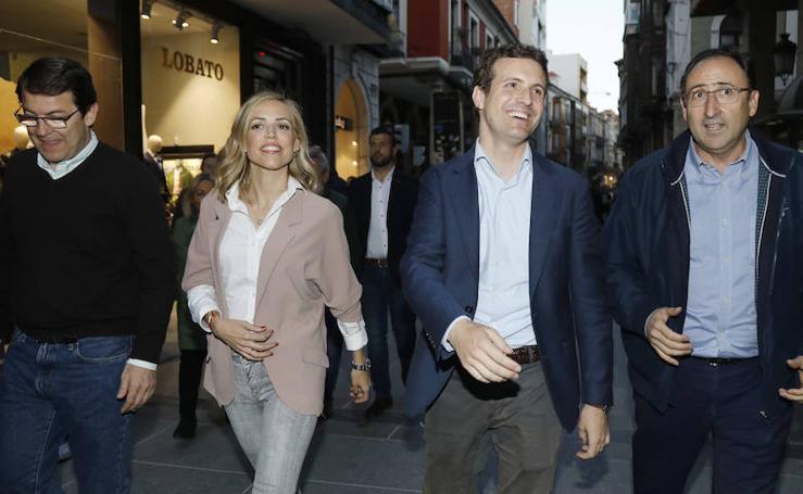 El PP de Palencia arropa a Pablo Casado