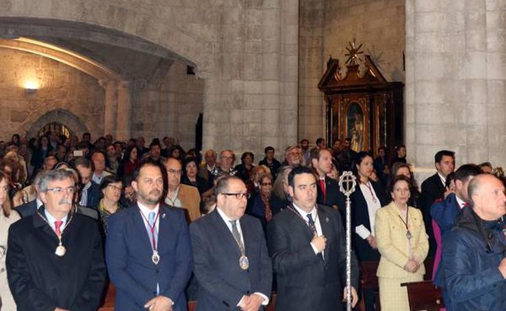 Misa en la Iglesia de la Antigua de Valladolid