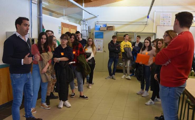 Jornadas sobre las opciones que ofrece la FP a los jóvenes de Guardo