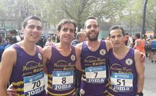 El At. Macotera, séptimo en el Nacional de media maratón por equipos