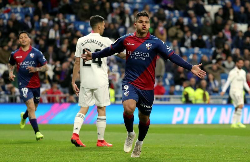 Las mejores imágenes del Real Madrid-Huesca