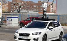 Los coches cámara de Apple rastrean Valladolid para elaborar el callejero en 3D de la ciudad