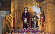 Programa de procesiones del Viernes de Dolores, 12 de abril, en Palencia