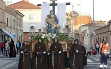 Programa de procesiones del Sábado de Pasión, 13 de abril, en Palencia