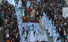 Programa de procesiones del Viernes Santo, 19 de abril, en Valladolid