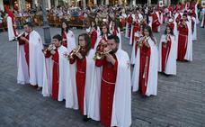 Programa de procesiones del Miércoles Santo, 17 de abril, en Palencia