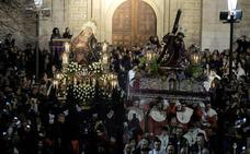 Programa de procesiones del Martes Santo, 16 de abril, en Valladolid