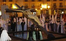 Programa de procesiones del Lunes Santo, 15 de abril, en Palencia