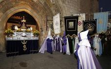 Programa de procesiones del Martes Santo, 16 de abril, en Palencia