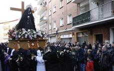 Programa de procesiones del Sábado Santo, 20 de abril, en Palencia