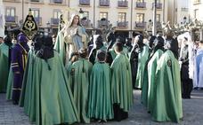 Programa de procesiones del Domingo de Resurrección, 21 de abril, en Palencia