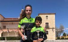 Dos nuevos triunfos para la Escuela de Ciclismo Bejarana en Aranda de Duero