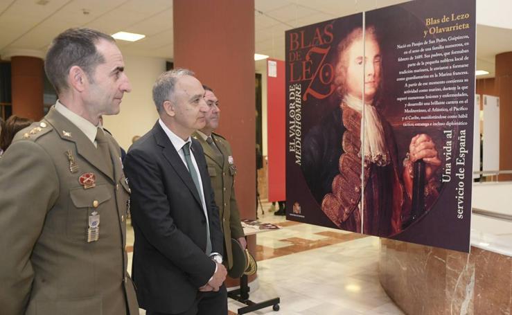 La Facultad de Filosofía y Letras de la UVA acoge la exposición 'Blas de Lezo. El valor de mediohombre'