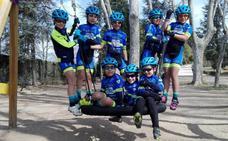Los corredores de la Escuela de Ciclismo Salmantina regresan de Aranda de Duero con varios 'top-ten'