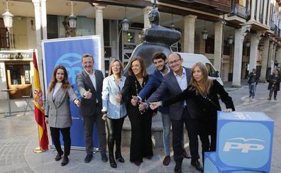 El PP de Palencia se presenta como el único con experiencia para traer soluciones a la provincia