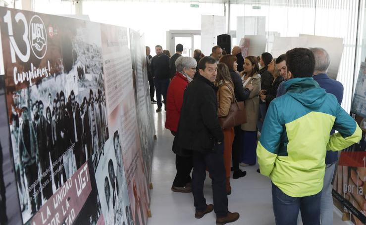 Los 130 años del sindicato UGT en imágenes