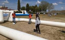 Erasmus+ con el fútbol sala en Alba de Tormes