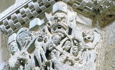 Siete investigadores siguen el rastro de Satán en el arte y la sociedad del románico
