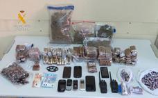 Seis detenidos en dos operaciones contra el tráfico de drogas en Salamanca