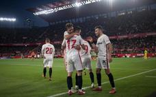 El Sevilla se lleva el duelo por Europa
