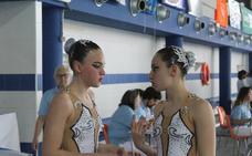 Sara Saldaña y Paula Ramírez deleitan en el arranque del nacional de natación artística