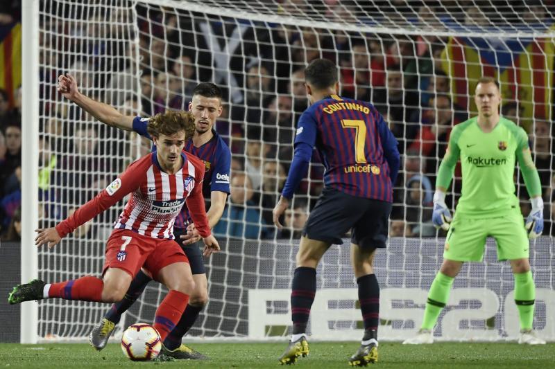 Las mejores imágenes del Barcelona-Atlético de Madrid