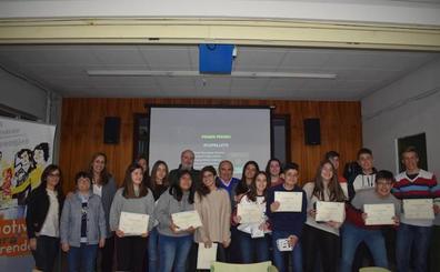 El proyecto de una fábrica de pellets, ganador de 'Motivar para emprender' en Guijuelo