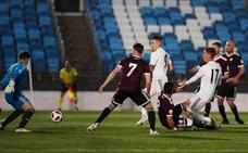 Sufrido punto de oro para el Salamanca CF con el Castilla antes del derbi (1-1)