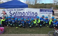 Triple podio para la Escuela de Ciclismo Salmantina en Arroyo de la Encomienda en el Trofeo Copa BTT