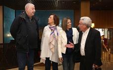 Fidalgo y Aparicio apuestan en Palencia por recuperar el consenso para garantizar las pensiones