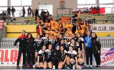 El cadete femenino del BM Salamanca, invicto campeón de Castilla y León