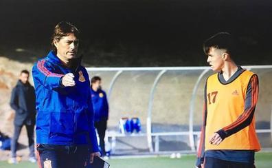 El salmantino Bruno Iglesias, de nuevo citado por Julen Guerrero para la selección nacional sub-16