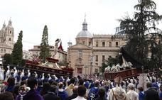 Programa de procesiones del Domingo de Resurrección, 21 de abril, en Salamanca