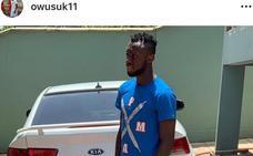 Owusu reaparece en redes sociales y hoy podría tener el OK de la embajada para viajar a España