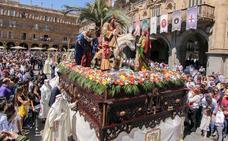 Programa de procesiones del Domingo de Ramos, 14 de abril, en Salamanca