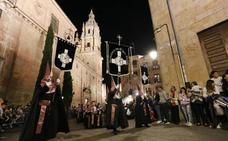 Programa de procesiones del Miércoles Santo, 17 de abril, en Salamanca